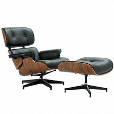Astounding Herman Miller Eames Lounge Chair And Ottoman Palisander And Black Leather Customarchery Wood Chair Design Ideas Customarcherynet
