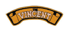 Vincent Shoulder Embroidered Patch