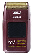 Wahl Professional 5 Star Shaver Rechargeable Cord/Cordless #8061