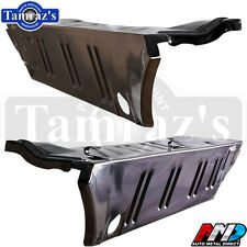 67-69 Dart Trunk Floor Extension Drop Off Quarter Panel Filler - AMD - PAIR