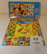 Scatola Vintage Board Game Italiano Anno 1992 Mattel DISNEY CLUB IL GIOCO ITA IT