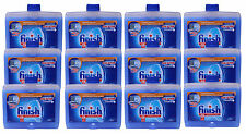 12 Pk Finish Dishwasher Cleaner Machine Liquid Odor Neutralizer Freshens 8.45 Oz