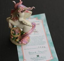 "Unicorn Figurine ""An Egg-stra Special Easter""; Hamilton Collection (#1109)"