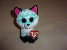 "TY MWMT PIPER THE FOX BEANIE BOO- 6"" BEANIE BOOS- CLAIRE'S EXCLUSIVE- SO CUTE!"
