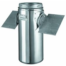 """8"""" Chimney Stove Pipe Stainless Steel SSII Roof Support A Size 8"""" B Size 10"""" 8T-"""