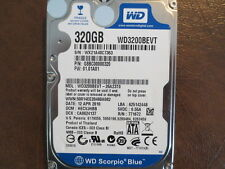 """Western Digital WD3200BEVT-26A23T0 DCM:HECVJHBB 2.5"""" 320gb Sata Hard Drive"""