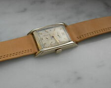 VINTAGE MENS  LONGINES 14K SOLID YELLOW GOLD 17JEWELS MANUAL WIND CAL. 9L