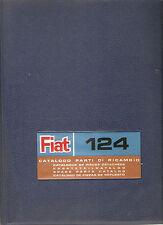 Fiat 124  Ersatzteilkatalog Motor usw. Ausgabe 1970  CATALOGO PARTI DI RRICAMBIO