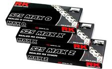 RK Chain 525 MAX-X RX-Ring Sealed Motorcycle Chain 120 Pink 525MAXX-120-PP