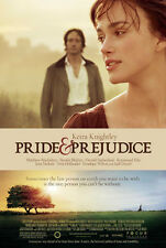 PRIDE & PREJUDICE MOVIE POSTER 2 Sided ORIGINAL FINAL 27x40 KEIRA KNIGHTLEY