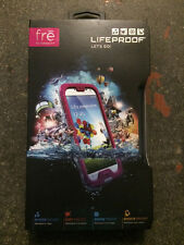 Original Lifeproof Fre water/dirt/snow a prueba de golpes Funda Para Samsung Galaxy S4