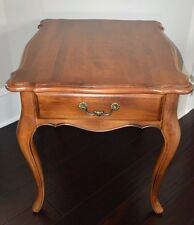 Ethan Allen Country French Lamp End Table Birch #26-8303 #236 Fruitwood (A)