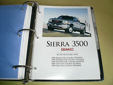 2005 GMC Sierra 3500 Product Portfolio Pages Facts