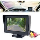 "Car 4.3"" TFT LCD Color Rearview Monitor for DVD GPS Reverse Backup Camera Fad DD"