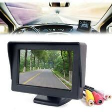 """Car 4.3"""" TFT LCD Color Rearview Monitor for DVD GPS Reverse Backup Camera Fad SM"""