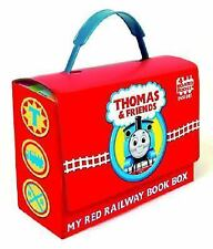 THOMAS AND FRIENDS My Red Railway Board Book Box set NEW the Tank Engine trains