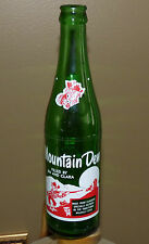 Rare Canadian MOUNTAIN DEW 'Jim & Clara' 10 oz ACL soda pop bottle FREE SHIP!