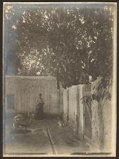 ALGERIE LAGHOUAT PHOTO JARDIN DE LA SUBDIVISION COIN DES GAZELLES 1903