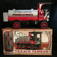 NEW ERTL 1910 Mack Texaco Tanker Bank Limited Edition TEXACO  #12 #F122