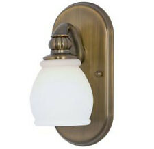 Price Pfister TREVISO 1 Light Vanity Wall Sconce Lighting Fixture BRONZE Finish