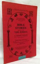 ZODIAC BIBLE OCCULT SECRET SYMBOLISM DEVIL SATAN WITCHCRAFT DIVINATION RARE