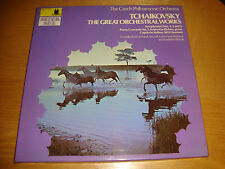 TCHAIKOVSKY The Great Orchestral Works -Ancerl,Slovak,Matacic/Cz.P.O.- 4LP /MINT