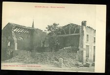 France, WWI, Maison Bombardee, Mecrin (Meuse), (pre-20(militaryJ#4