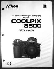 Nikon CoolPix 8800 Digital Camera User Guide Instruction  Manual