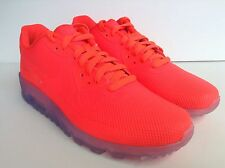 Nike Air Max 90 Hyperfuse Premium iD Solar Red Clear Men's SZ 10  ( 849352-901 )