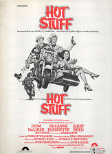 Jerry Reed sheet music HOT STUFF from film 1978 5 pp. (VG+ shape)