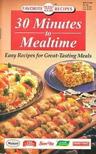 30 MINUTES TO MEALTIME FAVORITE BRAND NAME RECIPES COOKBOOK SOUTHWEST FOODS MORE