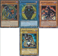 Dark Magician of Chaos + Magician of Black Chaos + Sorcerer of Dark Magic - NM
