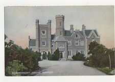 Government House Hobart Tasmania Australia 1907 Postcard 266a