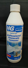 HG Professional Limescale Remover Concentrated Descaler Sink Toilet Descaler 500