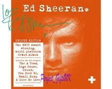 Ed Sheeran + Album Artwork SIGNED AUTOGRAPHED 10X8 PRE-PRINT PHOTO