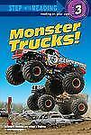 Monster Trucks! (Step into Reading)-ExLibrary
