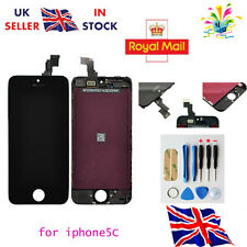 LCD Touch Screen Display Digitizer Assembly Replacement for iPhone 5C Black -UK