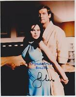 Roger Moore / Madeline Smith  Autograph , Original Hand Signed Photo