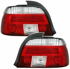 FEUX ARRIERE BLANC ROUGE BMW SERIE 5 E39 1995-2000 BERLINE PHASE 1 LOOK M5