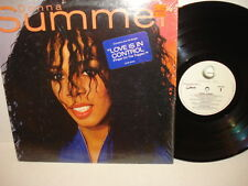 DONNA SUMMER - Love Is In Control Finger On The Trigger - LP Record 33 1/3 RPM