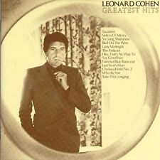 LEONARD COHEN Greatest Hits 12 Tk CD Album The Very Best Of Collection Essential