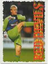 1995-#1-PETER SCHMEICHEL-RED DEVILS-MAN UNITED-RAVEN ROOKIE CARD-RARE-500 MADE