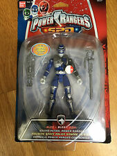 Power Rangers SPD Blue ranger action figure Sound patrol - new sealed