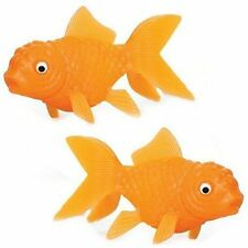Box of 144 Small Squirting Goldfish - Fun Wholesale Bath Time Toys Fillers