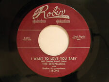 re  Serenaders 45 WANT TO LOVE YOU BABY / WILL SHE KNOW~VG++doowop Detroit repro