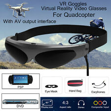 Virtual Reality Video Glasses VR FPV Goggles AV Interface For Drone Quadcopter