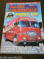 CLASSIC & VINTAGE COMMERCIALS - ERF LK44G CONFECTIONERY LORRY - AUG 2003