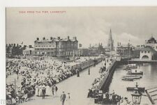 Lowestoft, View from The Pier, IXL Postcard, B519
