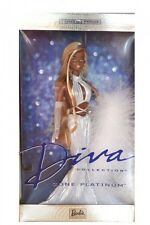 Barbie diva collection gone platinum poupée 2002 african/american