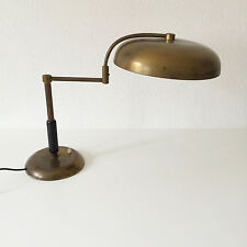 RARE & ORIG. Art Deco MAISON DESNY Desk Light TABLE LAMP Adnet BAUHAUS Era 1920s